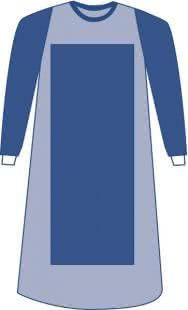 Sterile Poly-Reinforced Sirus Gown