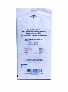 POUCH STERILIZATION SELF-SEAL 20.3X40.6CM