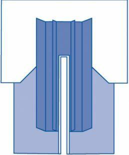 DRAPE SPLIT CV CLR ANES 277X340X215CM