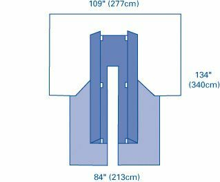 DRAPE PACK III CARDIVASCULAR W/GOWNS STERILE