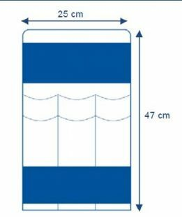 INSTRUMENT POUCH LONG 25X47CM INVISISHIELD