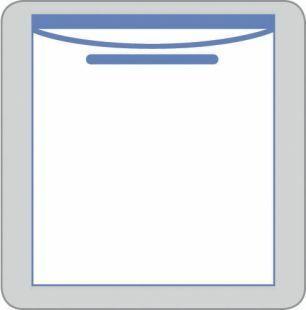 POUCH FLUID 21.6X27.9CM INVISISHIELD