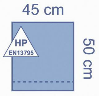 DRAPE BILAMINATE W/ ADHESIVE 45X50CM