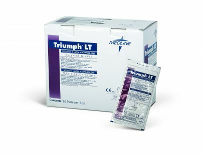Triumph LT Sterile Latex Powder-Free Surgical Gloves