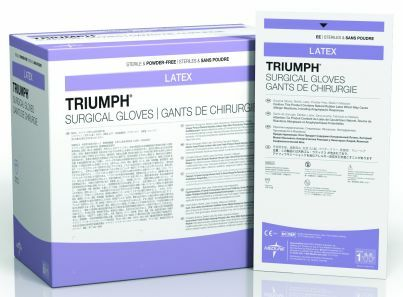 Triumph Sterile Latex Powder-Free Surgical Gloves