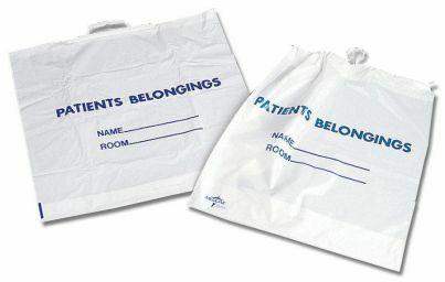 Patient Belongings Bag