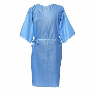 GOWN PATIENT SHORT SLEEVE REGULAR SIZE