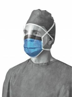 FLUID RESISTANT MASK SHIELD TIES