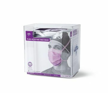 DISPENSER SURGICAL MASK DISPENSER CLEAR PERSPEX