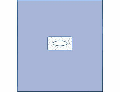 DRAPE SHEET WINDOW 102X114CM ADHERENT