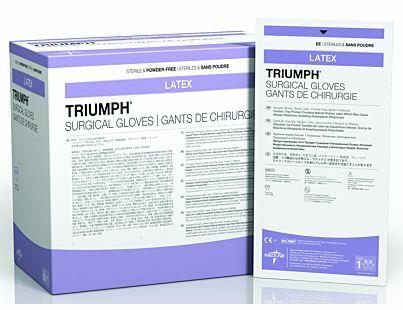 Triumph Sterile Latex Powder-Free Surgical Gloves